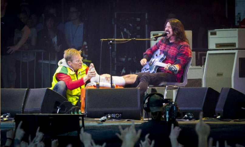 Dave Grohl & His Doctor
